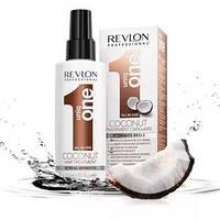 Маска-спрей для волос с ароматом кокоса Revlon Uniq One All In One Coconut Hair Treatment 150 мл