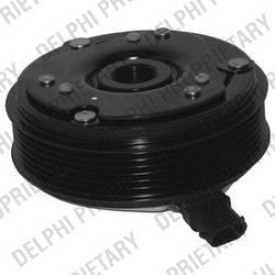 Електромагнітна муфта компресора кондиціонера Renault Trafic 2001-> 1.9 dCi — Delphi - 0165018/0