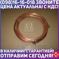 Трубка тормозная ГАЗ 53 (медь, 8-ми трубочный комплект ,D трубки=6мм) (пр-во Украина) 53-3506000-10