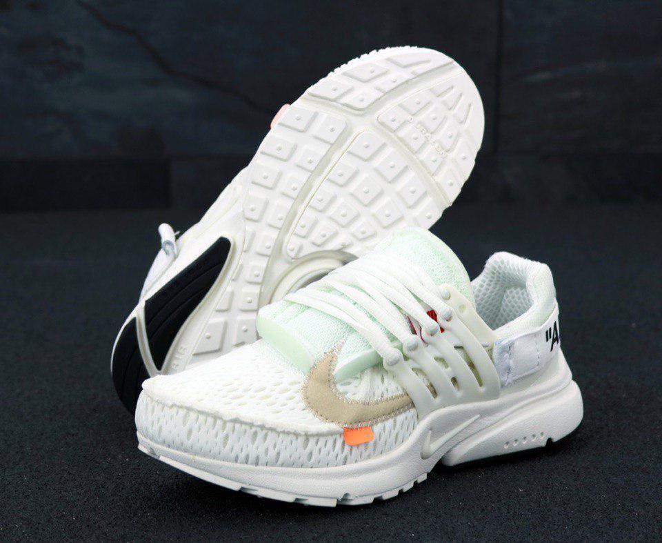 Кроссовки мужские Nike Presto x OFF-WHITE 31205 белые