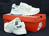 Кроссовки мужские Nike Presto x OFF-WHITE 31205 белые, фото 5
