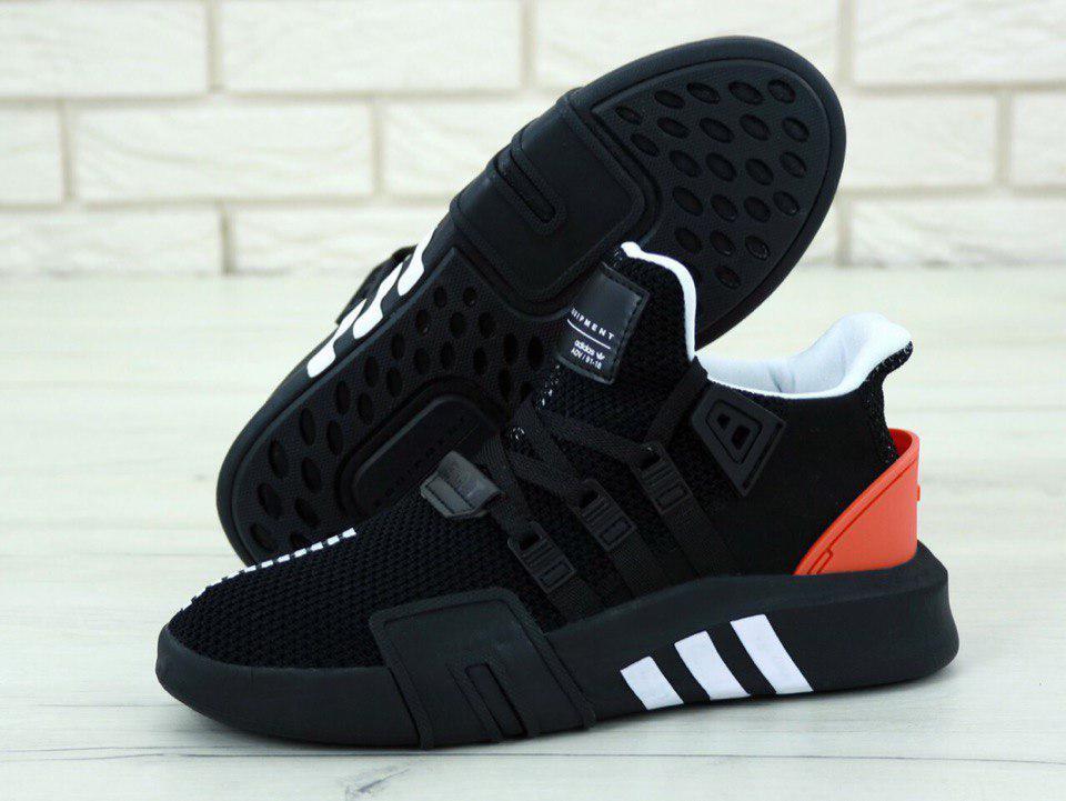 Кроссовки мужские Adidas EQT Bask ADV 31212 черные