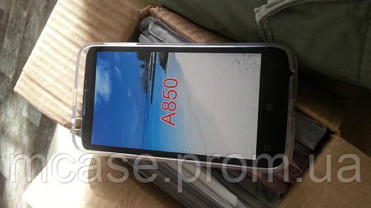 Силиконовый чехол для Lenovo A850