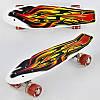 Скейт Пенни Борд Best Board F 3270 со светящимися колесами, фото 2