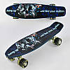 Скейт Пенни Борд Best Board F 3270 со светящимися колесами, фото 7