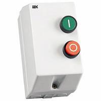 Контактор КМИ 10960 9А в оболочке с индик. Ue=400В/АС3 IP54 ИЭК