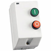 Контактор КМИ 11860 18А в оболочке с индик. Ue=230В/АС3 IP54 ИЭК