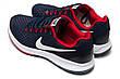 Кроссовки мужские Nike Zoom Pegasus 34, темно-синие (12592) размеры в наличии ► [  44 (последняя пара)  ], фото 4