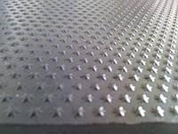 Пластина набоечна Зірочка 6мм 500х500