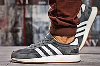 Кроссовки мужские 15422, Adidas Iniki, темно-серые ( нет в наличии  ), фото 1