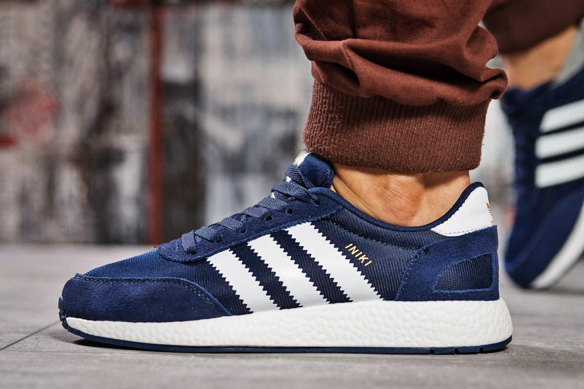 Кроссовки мужские 15423, Adidas Iniki, темно-синие ( нет в наличии  )