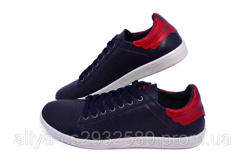Мокасины Multi-Shoes Rich Perforation 9695 Blue