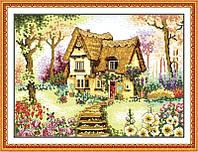 Вышивание крестом Идейка Маленький домик (ide_F023) 56 х 42 см