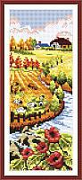 Вышивание крестом Идейка Осенний пейзаж (ide_F069) 23 х 43 см
