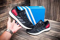 Кроссовки мужские Adidas Ultra Boost M, черные (4258-1) размеры в наличии ► [  41 (последняя пара)  ], фото 2