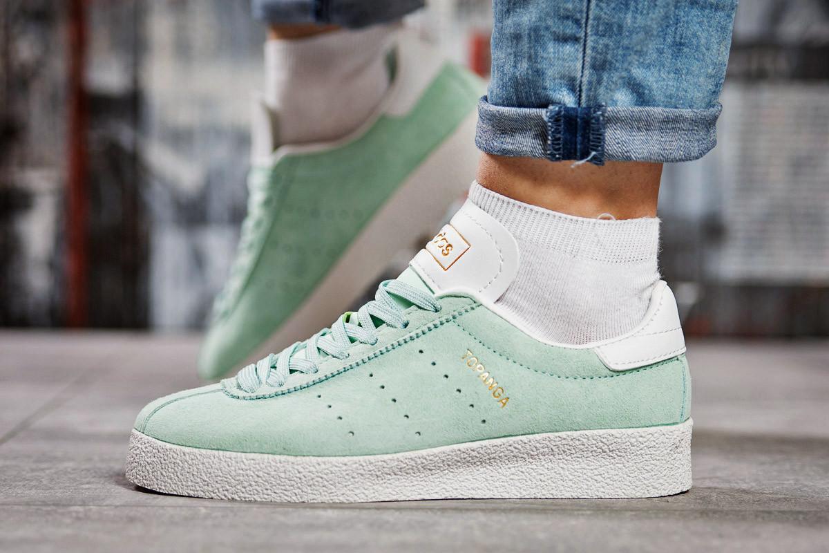 Кроссовки женские Adidas Topanga, мятные (15463) размеры в наличии ► [  38 39  ]