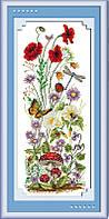 Набор вышивка крестом Идейка Весеннее настроение (ide_H037) 27 х 57 см