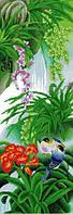 Вышивание крестом Идейка Райский сад (ide_H072(2)) 38 х 92 см