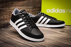 Кроссовки мужские Adidas Neo Courtset  ( 100% оригинал  ), черные (7063) размеры в наличии ► [  44 44,5  ], фото 3
