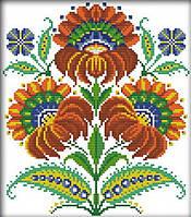 Набор вышивка крестом Идейка Украинские узоры (ide_H270) 34 х 37 см, фото 1