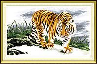 Набор вышивка крестом Идейка Гордый тигр (ide_D037) 61 х 40 см