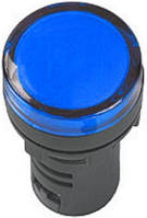 Лампа AD16DS LED-матрица d16мм синий 36В AC/DC ИЭК