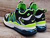 Чоловічі кросівки Nike Air Max 270 BowFin Grey/Green/Blue, фото 2