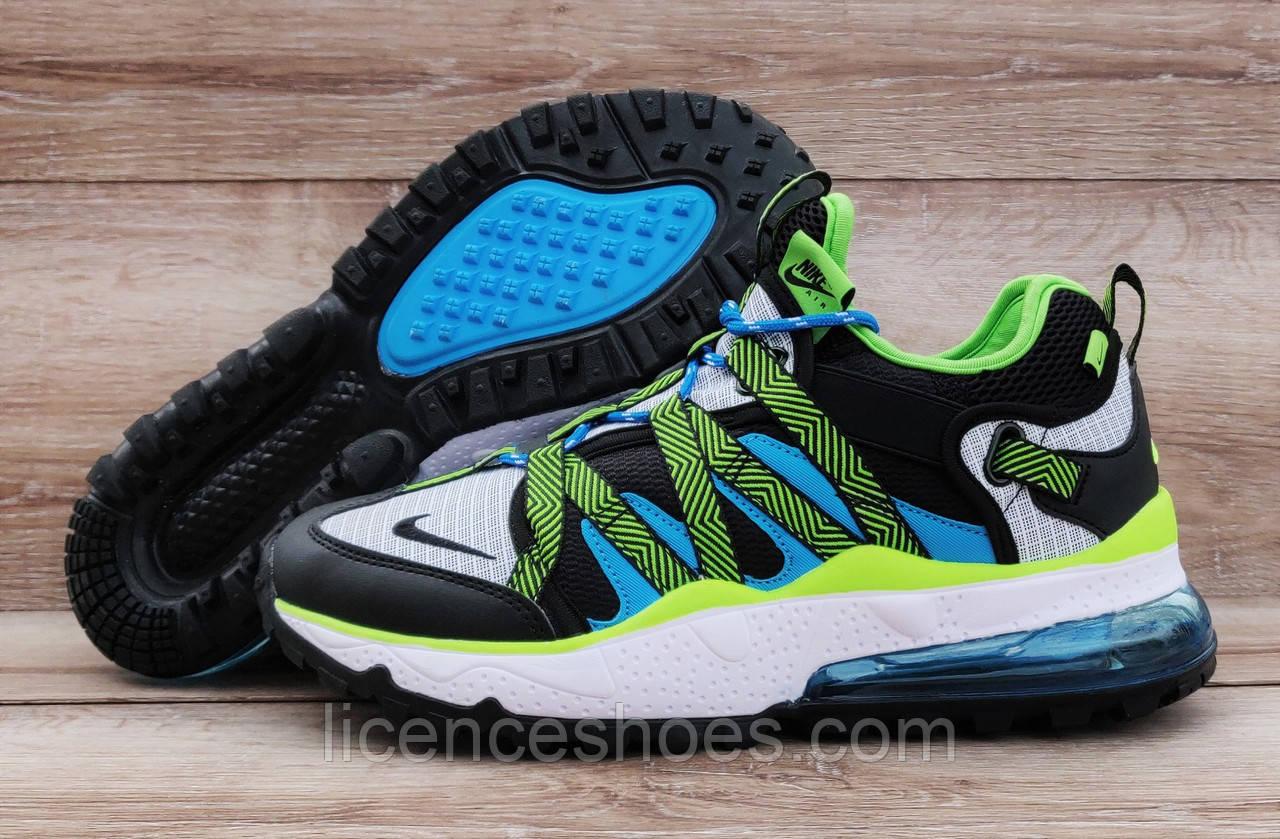 Чоловічі кросівки Nike Air Max 270 BowFin Grey/Green/Blue