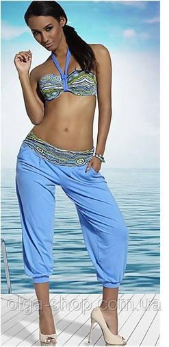 Пляжные штаны Kris Line Mozaica (туника пляжная женская, парео)