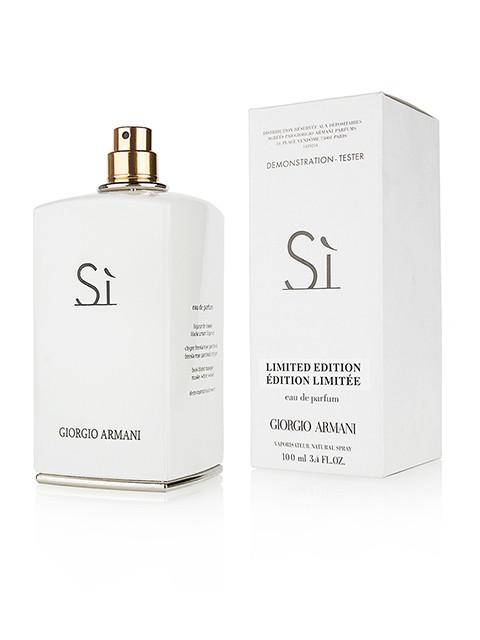 Новинка Тестер. Женская парфюмированная вода Giorgio Armani Si White (Джорджио  армани Си Вайт) 100 4317003cec8b0