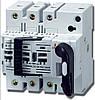 Комбинированный выключатель с предохранителями 10х38 Fuserbloc 32 Ампер 3 пол.