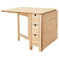 IKEA NORDEN (102.902.21) Стол с откидной столешницей