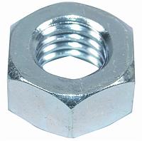 Гайка с дюймовой резьбой UNC, шестигранная, стальная, размеры резьбы от 1/4 до 1 1/2 дюйма.