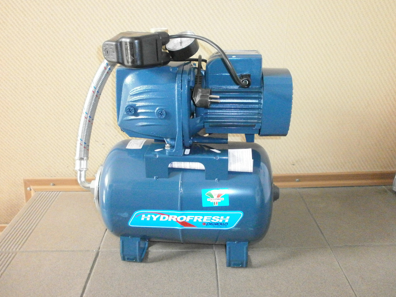 Насосная станция  Pedrollo HF JSWm 2CX /24CL (JSWm10MX/24), 0.75 кВт, 4,2 м3/ч, 50 м
