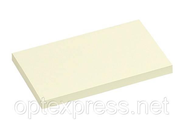 Клеющийся блок  100 листов 75х125мм желтый INFO NOTES PRINTINFORM