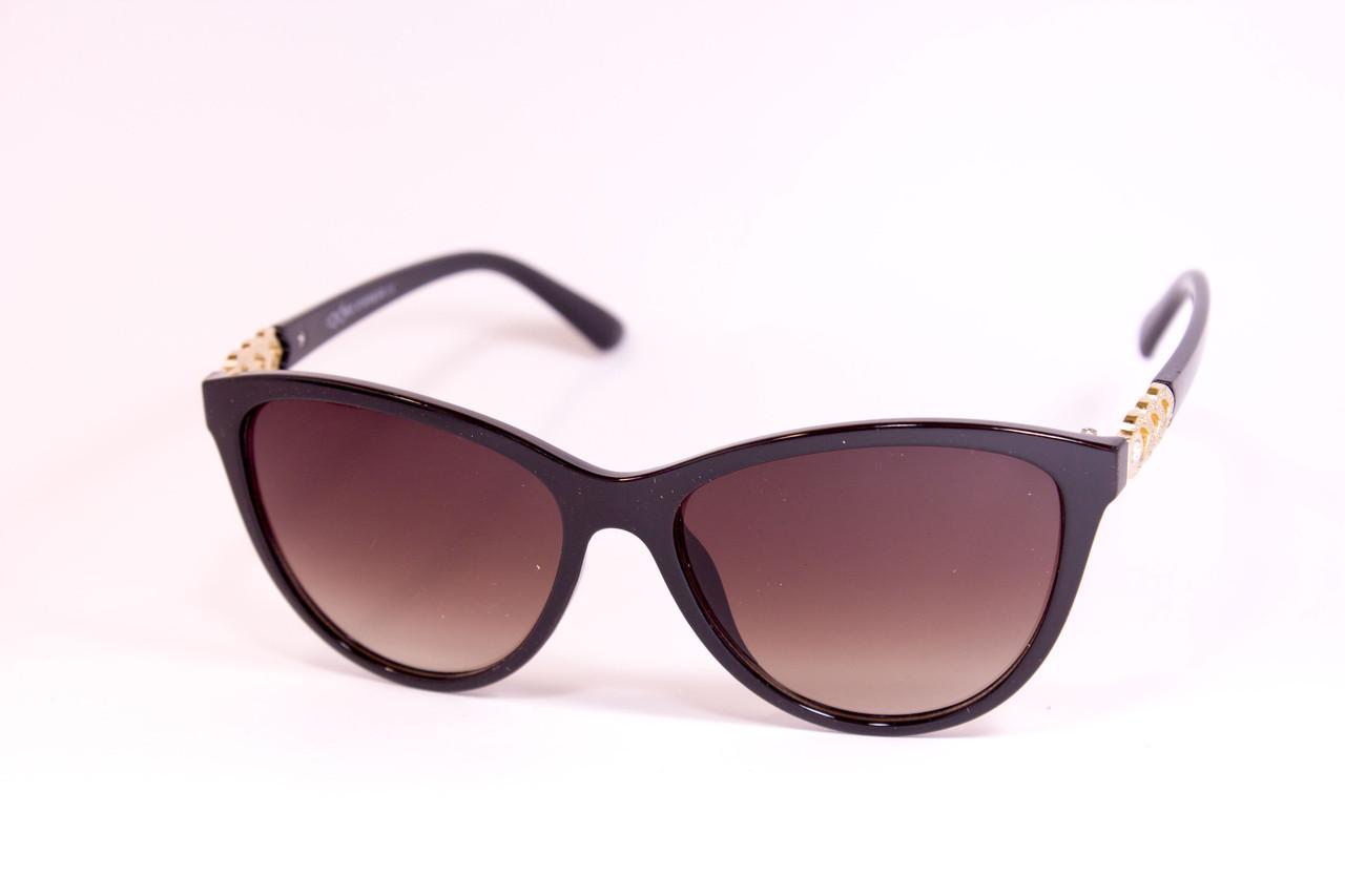 Солнцезащитные женские коричневые очки 8176-1