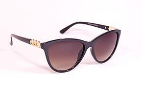 Солнцезащитные женские коричневые очки 8176-1, фото 2