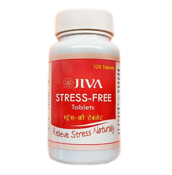 Стресс Фри Джива Аюрведа, Jiva Ayurveda Stress Free, табл.120 шт- антистрессовый препарат