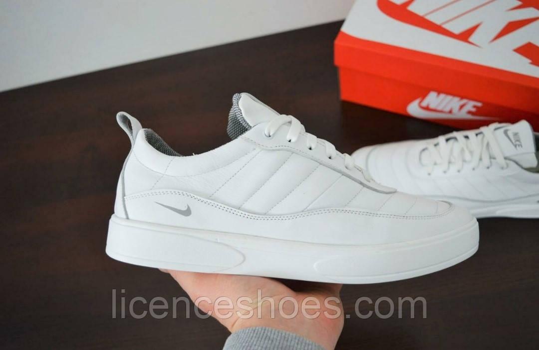 Мужские кожаные кроссовки Nike Air Max