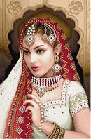 Набор для вышивки крестом Идейка Индийская красавица 2 (ide_R246) 50 х 70 см