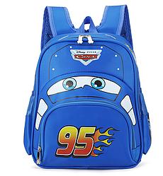 Рюкзак детский, Тачки  Disney, 27 см * 13 см * 33 см, синий.