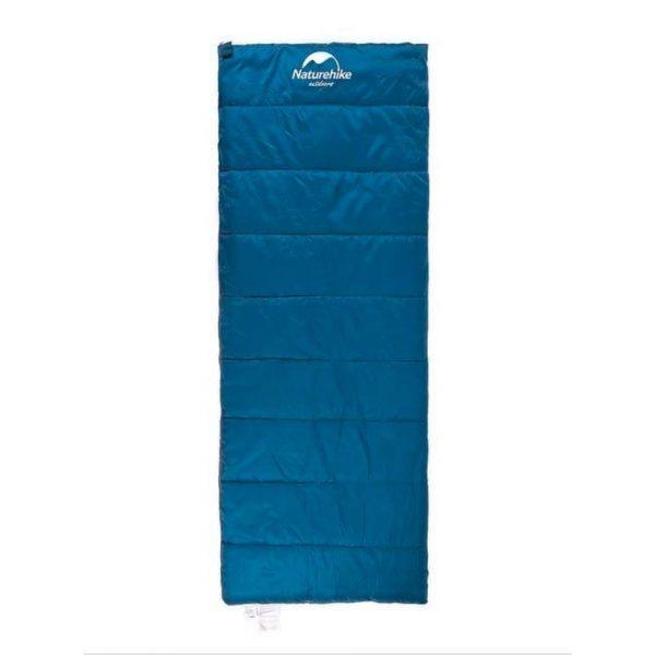 Спальный мешок Nature Nike летний H150 190×75см, вес 0,8кг, 11-15℃ синий
