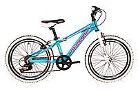 """Горный велосипед детский mascotte spark 20"""" жесткая вилка"""
