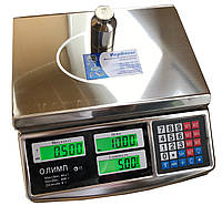 Торговые весы Олимп A15 (40 кг)
