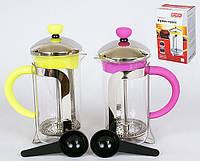 Заварочный чайник с пластиковой ложкой 350мл, 2 вида BonaDi 535-A10