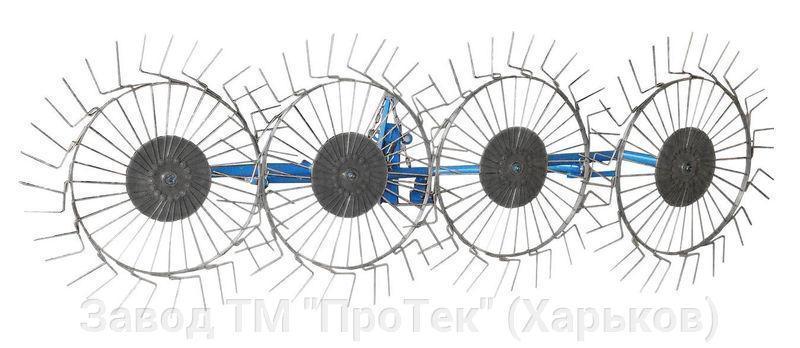 Грабли ворошилки Солнышко тракторные ПроТек-4