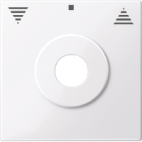 Центральная плата управления жалюзи с маркировкой, активно-белый Shneider Merten (MTN3883-0325)