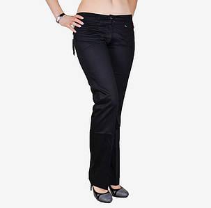 Черные брюки с карманами сзади (W0839)   6 шт., фото 2