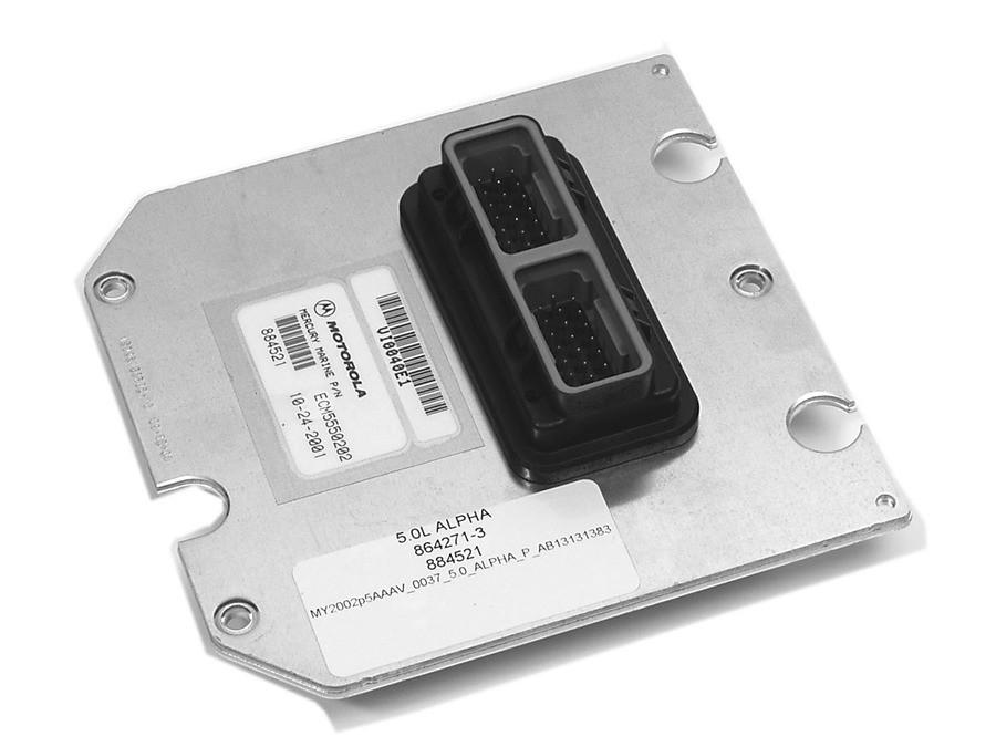 Блок управления двигателем Mercruiser 4.3MPI Alpha/Bravo [865830T06]