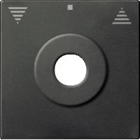 Центральная плата управления жалюзи с маркировкой, антрацит Shneider Merten(MTN3883-0414), фото 1